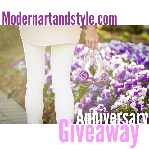 Modern art + style Anniversary Giveaway | UPDATE